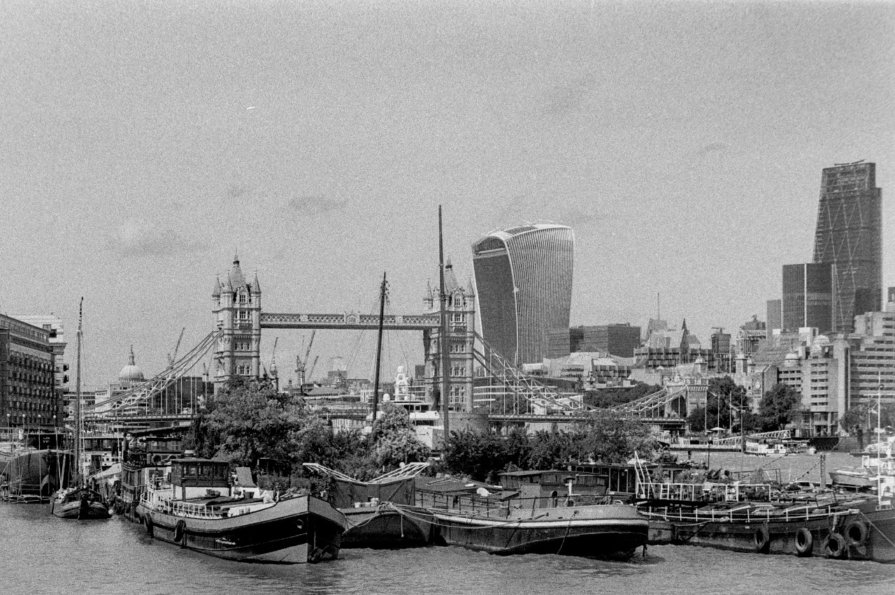 London view from Bermondsey